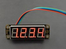 Gravity 4-Digital LED Segment Display Module (Red)