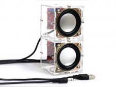 DIY Speaker Kit 3W with Acrylic Case 2.36""