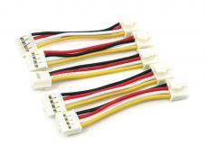 Grove Universal 4 Pin Buckled 5cm Cable (5 PCs Pack)