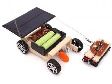 Solar Rechargeable Wireless Car
