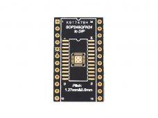 SOP24 / TSSOP24 / QFN24 / QFN20 to DIP 24 Adapter