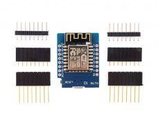 WiFi Module WeMos D1 Mini ESP8266 + Header + Cable